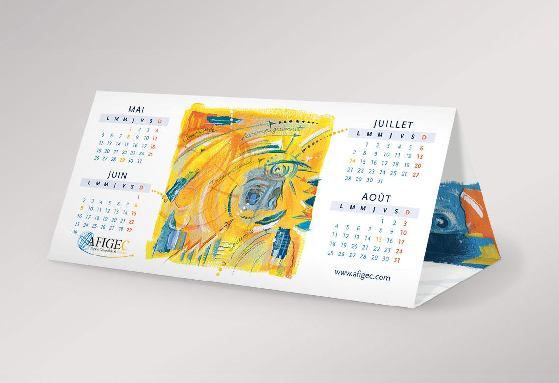 Carte de voeux Paris studio création graphique